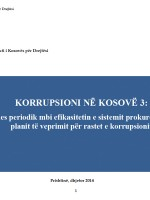 Korrupsioni në Kosovë 3 - Dhjetor 2014