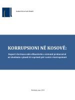 Korrupsioni në Kosovë - Mars 2014