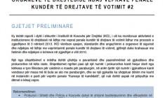 Raport i shkurter mbi pergjigjen e Prganeve te Drejtesis ndaj veprave penale kunder te drejtave te votimit #2